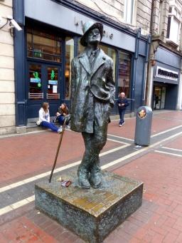 James Joyce Monument - Dublin