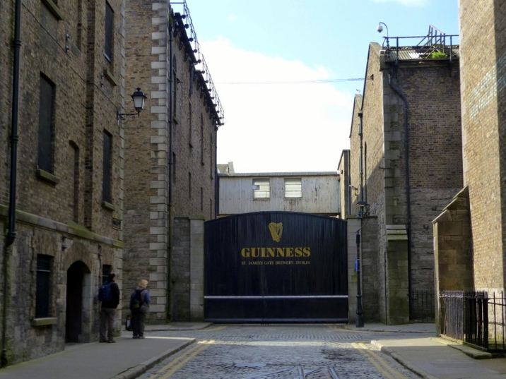 Guinness Brewery at St James' Gate - Dublin