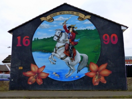 Loyalist Murals in West Belfast