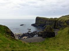 Coast of Antrim landscape