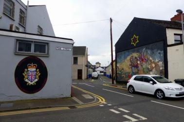 West Bank Loyalist Murals - Derry