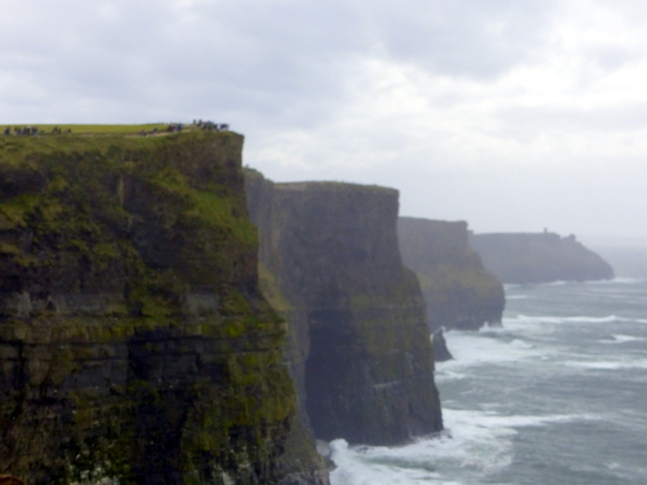 View of Hag's Head - Cliffs of Moher, County Clare
