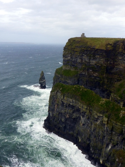 View of O'Brien's Tower - Cliffs of Moher, County Clare