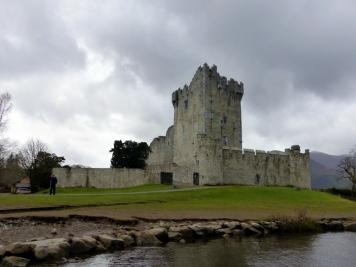 Ross Castle in Killarney National Park - County Kerry