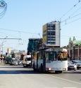 Trolley buses, Novosibirsk