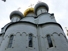 Smolensk Cathedral at Novodevichy Convent and Cemetery compound