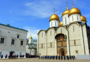 View of the Assumption Cathedral at the Kremlin