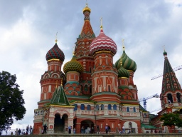 St Basil's Cathedral at the Red Square
