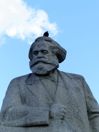 Karl Marx Statue, Moscow