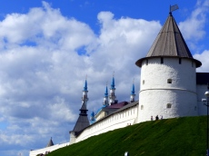Overview of South-West Tower, Kazan Kremlin