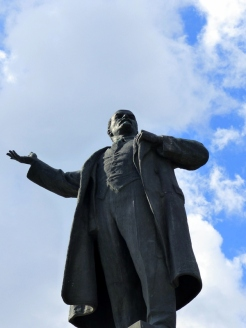 Lenin Statue at Lenin Square
