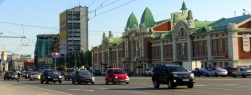 Krasny Prospekt and the Novosibirsk Regionak Museum, Novosibirsk