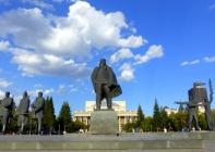 Lenin Square, Novosibirsk