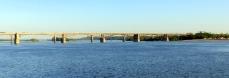 Bridge over the Ob river