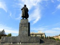 Lenin Square, Krasnoyarsk