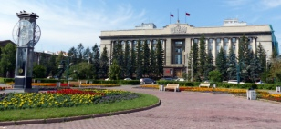 Government buildings, Krasnoyarsk