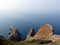 Three Brothers Rock - Olkhon Island