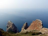Three Brothers Rock - Olkhon Island