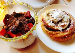 Sweet treats from a Krasnoyarski café