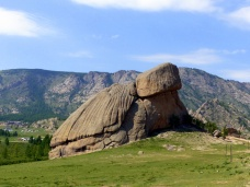 Frog Rock or Turtle Rock (Melkhi Khad)