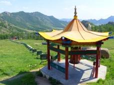 Way to Aryapala Buddhist retreat