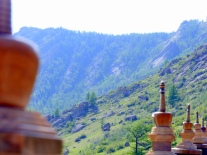 Stupas - Aryapala Buddhist retreat