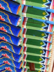 Roofbeams - Aryapala Buddhist retreat