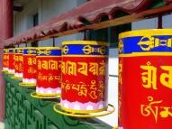 Praying wheels - Aryapala Buddhist retreat