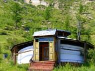 Monk's ger -Aryapala Buddhist retreat