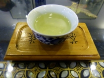 Tea sample from local tea ceremony, Beijing
