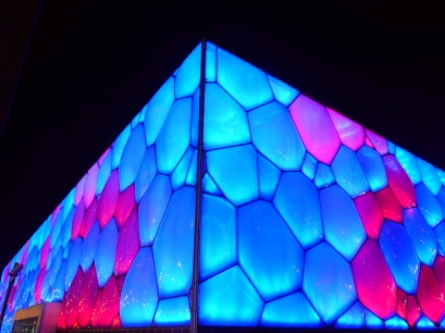Beijing National Aquatic Centre aka The Water Cube